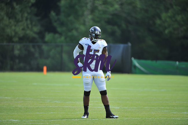 Day 6 of Ravens training camp at Under Armour Performance Center in Owings Mills Sunday evening.