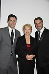 Frank Valentini - Erika Slezak - Ron Carlivati as One Live To Live nominated at The 63rd Annual Writers Guild Awards on Sarturday, February 5, 2011 at the AXA Equitable Center, New York City, New York. (Photo by Sue Coflin/Max Photos)