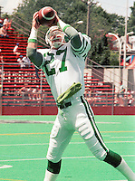 Glen Suitor Saskatchewan Roughriders. Copyright photograph Scott Grant