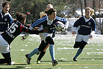 .The University of North Carolina Tar Heels played the North Carolina State Wolfpack in a USA Rugby Women's College Rubgy Division I match. February 13, 2010 on the campus of the University of North Carolina in Chapel Hill, North Carolina.