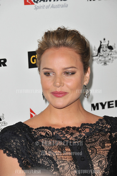 Abbie Cornish at the 2011 G'Day USA Black Tie Gala at the Hollywood Palladium..January 22, 2011  Los Angeles, CA.Picture: Paul Smith / Featureflash