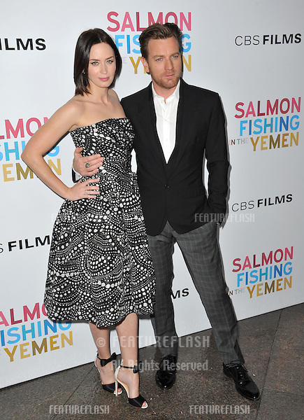 "Emily Blunt & Ewan McGregor at the US premiere of their new movie ""Salmon Fishing in the Yemen"" at the Directors Guild Theatre, West Hollywood..March 5, 2012  Los Angeles, CA.Picture: Paul Smith / Featureflash"