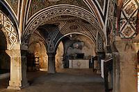 Tomb of Osios Loukas,crypt,cross-vault paintings,AD 955,Osios Loukas Monastery,Greece
