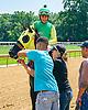 Hazel W winning at Delaware Park on 6/30/16