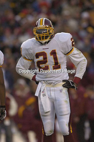 18 December 2005: Sean Taylor..The Washington Redskins defeated the Dallas Cowboys 35-7  at FedEx Field in Landover, MD.