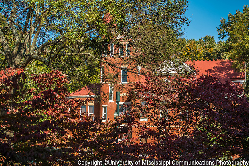 Ventress Hall.  Photo by Kevin Bain/University Communications Photography