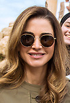 Queen Rania Visits Jerash Visitor Center