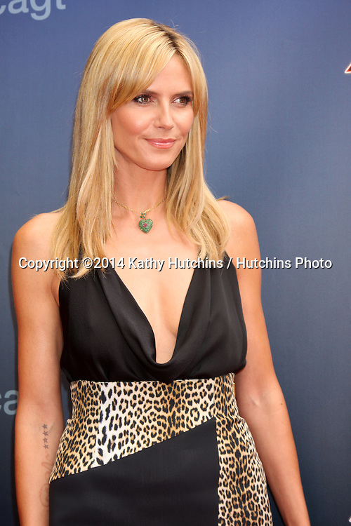 """LOS ANGELES - APR 22:  Heidi Klum at the """"America's Got Talent"""" Los Angeles Auditions Arrivals at Dolby Theater on April 22, 2014 in Los Angeles, CA"""