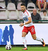KORTRIJK , BELGIUM - AUGUST 03 : Gary Kagelmacher  of Kortrijk pictured during the Jupiler Pro League match day 2 between Kv Kortrijk and Sporting Charleroi on August 03 , 2019 in Kortrijk , Belgium . ( Photo by David Catry / Isosport )