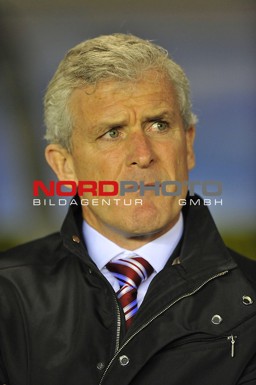 Stoke City Manager, Mark Hughes  -  29/10/2013 - SPORT - FOOTBALL - ST Andrew's - Birmingham - Birmingham City v Stoke City - Capital One Cup - Forth Round<br /> Foto nph / Meredith<br /> <br /> ***** OUT OF UK *****