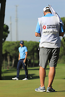 Lucas Bjerregaard (DEN) during the final round of the Turkish Airlines Open, Montgomerie Maxx Royal Golf Club, Belek, Turkey. 10/11/2019<br /> Picture: Golffile | Phil INGLIS<br /> <br /> <br /> All photo usage must carry mandatory copyright credit (© Golffile | Phil INGLIS)