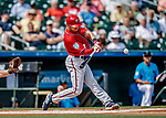 1 March 2019: Washington Nationals infielder Trea Turner in Spring Training action against the Miami Marlins at Roger Dean Stadium in Jupiter, Florida. The Nationals defeated the Marlins 5-4 in Grapefruit League play. Mandatory Credit: Ed Wolfstein Photo *** RAW (NEF) Image File Available ***