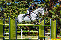 NZL-Glen Beal rides Sacramento. Class 22: Outpost Buildings Horse GP Super Series. 2020 NZL-Collinson Forex Premier Show Jumping At Woodhill Sands. Helensville. Sunday 12 January. Copyright Photo: Libby Law Photography