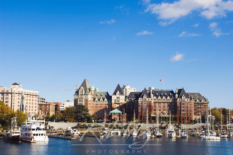 Canada, BC, Victoria, Inner Harbour