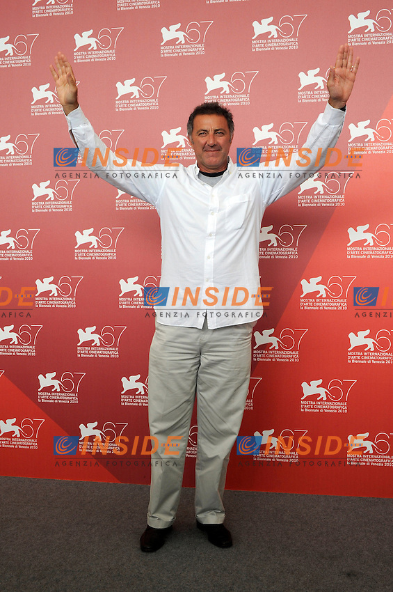 "- ""67 Mostra Internazionale D'Arte Cinematografica"". Tuesday, 2010 September 07, Venice ITALY....- In The Picture: The film director Luca Barbareschi at the photocall for the film ""NOI CREDEVAMO""......Photo STEFANO MICOZZI / Insidefoto/Insidefoto"