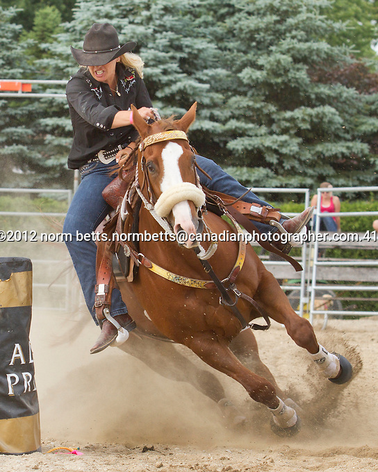 Rodeo, Milverton, Ontario, Canada June 16&17, 2012.photo by Norm Betts.normbetts@canadianphotographer.com.416 460 8743