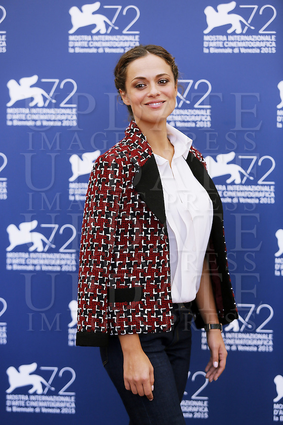 Valeria Bilello attends a photocall for 'L'Oreal Award' during the 72nd Venice Film Festival at the Palazzo Del Cinema in Venice, Italy, September 10, 2015.<br /> UPDATE IMAGES PRESS/Stephen Richie