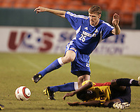 Taylor Graham controls the ball the ball during.Kansas City's 1-0 victory over Chicago to win the US Open Cup, at Arrowhead Stadium, in Kansas City, MO, Wednesday, Sept., 22, 2004.