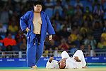 Kento Masaki (JPN),<br /> SEPTEMBER 10, 2016 - Judo : <br /> Men's +100kg Bronze medal contest A<br /> at Carioca Arena 3 during the Rio 2016 Paralympic Games in Rio de Janeiro, Brazil. (Photo by Shingo Ito/AFLO)