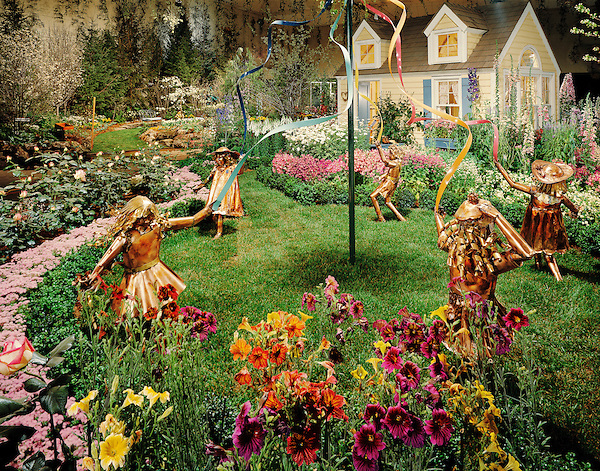 Philadelphia Flower Show 1986 , Christine's Garden by Gale Nurseries