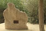 Israel, Southern Coastal Plain, a memorial to Mira Ben Ari in Old Nitzanim