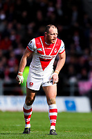 Picture by Alex Whitehead/SWpix.com - 30/03/2018 - Rugby League - Betfred Super League - St Helens v Wigan Warriors - Totally Wicked Stadium, St Helens, England - St Helens' James Roby.