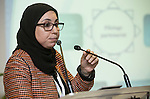 "BRUSSELS - BELGIUM - 23 November 2016 -- European Training Foundation (ETF) Conference on ""GETTING ORGANISED FOR BETTER QUALIFICATIONS"". -- Amina El Alam, Ministère de l'Education Nationale et de la Formation Professionnelle Chef de Division des Programmes et de la Coordination Pédagogique (Morocco). -- PHOTO: Juha ROININEN / EUP-IMAGES"
