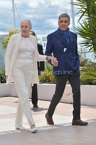 Vanessa Redgrave and Charles S. Cohen at the Photocall &acute;Howards End` - 69th Cannes Film Festival on May 12, 2016 in Cannes, France.<br /> CAP/LAF<br /> &copy;Lafitte/Capital Pictures /MediaPunch ***NORTH AMERICAN AND SOUTH AMERICAN SALES ONLY***