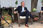 LOS ANGELES - MAY 15: Liev Schreiber at The Actors Fund's Edwin Forrest Day celebration at a private residence on May 15, 2016 in Sherman Oaks, California