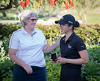 Caryn Khoo was the runner up in the New Zealand Amateur Golf Championship today at the Remuera Gold Club, Auckland, New Zealand. Sunday 3rd st November 2019. Photo: Greg Bowker/www.bwmedia.co.nz/NZGolf<br /> COPYRIGHT:© www.bwmedia.co.nz