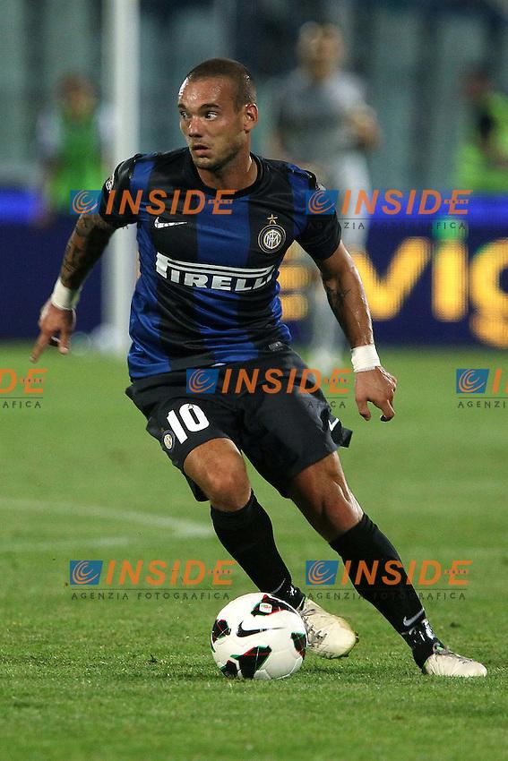 Wesley Sneijder Inter.Pescara 26/08/2012 Stadio Adriatico.Football Calcio Serie A Pescara v Inter.Foto Insidefoto Paolo Nucci.