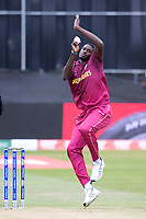 Jason Holder (West Indies) in action during South Africa vs West Indies, ICC World Cup Warm-Up Match Cricket at the Bristol County Ground on 26th May 2019