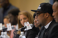"September 23, 2011  (Washington, DC)   Reverend Lennox Yearwood speaks at the ""Hip Hop Activism in the Obama Era"" panel discussion during the 41st Annual Legislative Conference of the Congressional Black Caucus Foundation.   (Photo by Don Baxter/Media Images International)"