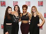 Noa Solorio, Kelli Barrett, Tamika Lawrence and Becca Kotte attends the Meet and Greet for Broadway's 'Gettin' the Band Back Together' on May 4, 2018 at Manhattan Movement & Arts Center in New York City.