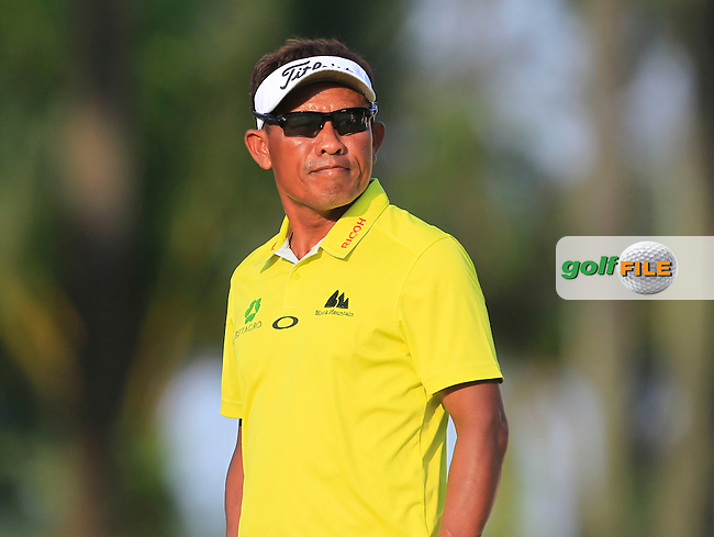 Thongchai Jaidee (THA) on the 11th tee during Round 2 of the Maybank Championship on Friday 10th February 2017.<br /> Picture:  Thos Caffrey / Golffile<br /> <br /> All photo usage must carry mandatory copyright credit      (&copy; Golffile | Thos Caffrey)
