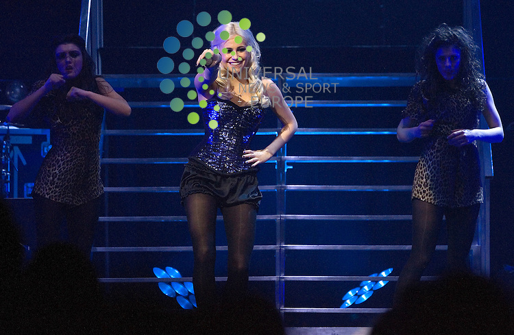Pixie Lott starts her tour playing at the Clyde Auditorium in Glasgow on Wednesday 24th November 2010.. .Pictures: Peter Kaminski/Universal News and Sport (Europe)2010