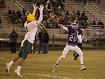 A photograph from the Manogue Miners at Spanish Springs Cougars football game played on Friday night, November 9, 2018 at Spanish Springs High School in Sparks, Nevada.