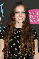 NEW YORK CITY, NY, USA - JUNE 02: Birdy at the New York Premiere Of 'The Fault In Our Stars' held at Ziegfeld Theatre on June 2, 2014 in New York City, New York, United States. (Photo by Jeffery Duran/Celebrity Monitor)