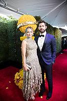 Golden Globe nominee Emily Blunt and John Krasinski attend the 76th Annual Golden Globe Awards at the Beverly Hilton in Beverly Hills, CA on Sunday, January 6, 2019.<br /> *Editorial Use Only*<br /> CAP/PLF/HFPA<br /> Image supplied by Capital Pictures