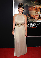 Keisha Castle-Hughes at the premiere for &quot;Thank You For Your Service&quot; at the Regal LA Live Theatre. Los Angeles, USA 23 October  2017<br /> Picture: Paul Smith/Featureflash/SilverHub 0208 004 5359 sales@silverhubmedia.com