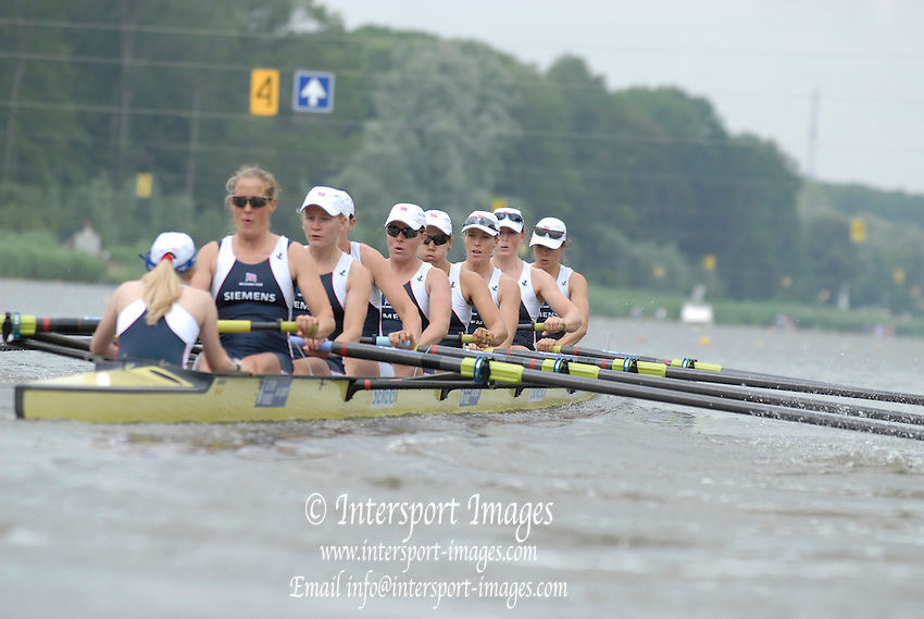 Amsterdam, HOLLAND, NED LW1X Marit van EUPEN, at the 2007 FISA World Cup Rd 2 at the Bosbaan Regatta Rowing Course. 23.06.2007[Mandatory Credit: Peter Spurrier/Intersport-images]...... , Rowing Course: Bosbaan Rowing Course, Amsterdam, NETHERLANDS