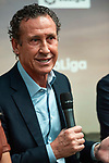 Jorge Valdano during the presentation of the strategic alliance between Movistar and Laliga<br /> October 4, 2019. <br /> (ALTERPHOTOS/David Jar)