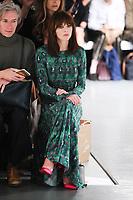 Ophelia Lovibond<br /> at the Bora Aksu SS18 Show as part of London Fashion Week, London<br /> <br /> <br /> ©Ash Knotek  D3308  15/09/2017