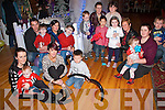 A group of parents and children who came to visit Santa at Aughinish Alumina's Children's Christmas event the Devon Inn Hotel on Sunday.