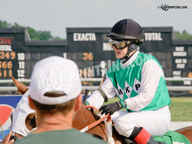 Cecily Evans at Delaware Park on 7/26/14