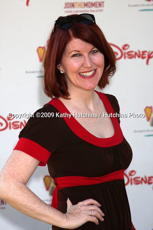 """Kate Flannery arriving at the """"A Time For Heroes Celebrity Carnival"""" benefiting the Elizabeth Glaser Pediatrics AIDS Foundation at the Wadsworth Theater Grounds in Westwood , CA on June 7, 2009 .©2009 Kathy Hutchins / Hutchins Photo.."""