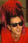 Tony James front man of the 1980s punk rock band Sigue Sigue Sputnik. Newcastle upon Tyne.