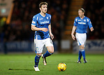 St Johnstone v Hearts..19.12.15  SPFL  McDiarmid Park, Perth<br /> Liam Craig<br /> Picture by Graeme Hart.<br /> Copyright Perthshire Picture Agency<br /> Tel: 01738 623350  Mobile: 07990 594431