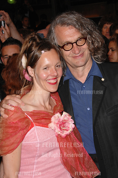 "Director Wim Wenders & wife Donata at the screening of ""U2 3D"" at the 60th Annual International Film Festival de Cannes. .May 19, 2007  Cannes, France..© 2007 Paul Smith / Featureflash"