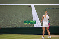 ALIZE CORNET (FRA)<br /> <br /> The Championships Wimbledon 2014 - The All England Lawn Tennis Club -  London - UK -  ATP - ITF - WTA-2014  - Grand Slam - Great Britain -  30th June 2014. <br /> <br /> &copy; Tennis Photo Network